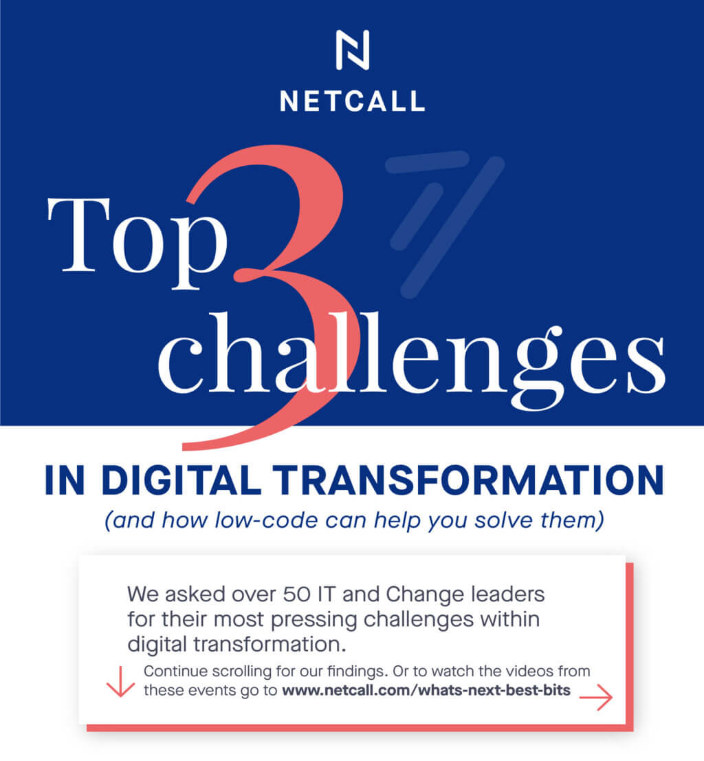Top 3 challenges in digital transformation